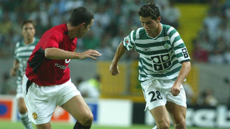 ONLY GERMANY Cristiano Ronaldo Sporting United 2003