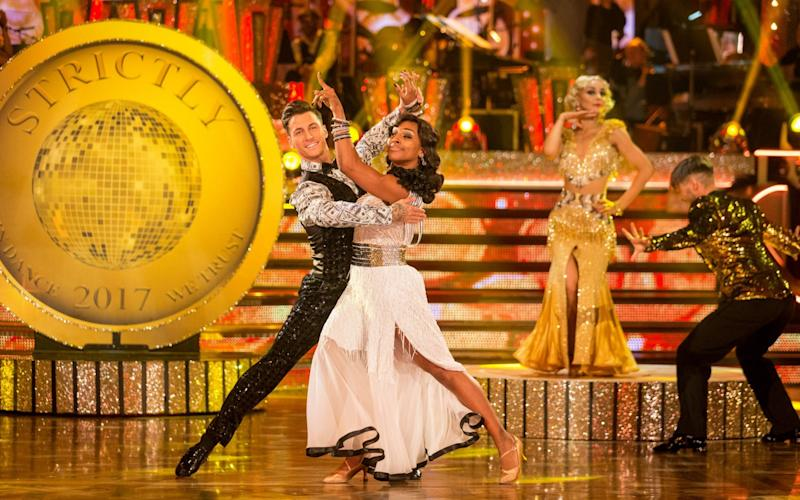Alexandra and Gorka's quickstep - WARNING: Use of this copyright image is subject to the terms of use of BBC Pictures' Digital Picture
