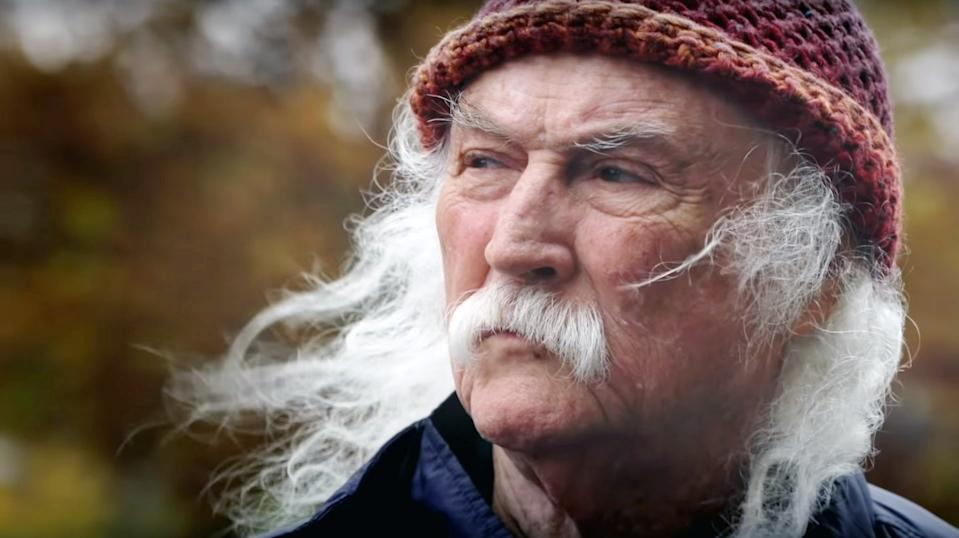 The legendary rock singer, David Crosby, is the subject of 'David Crosby: Remember My Name' (Photo: Sony Pictures Classics / courtesy Everett Collection)