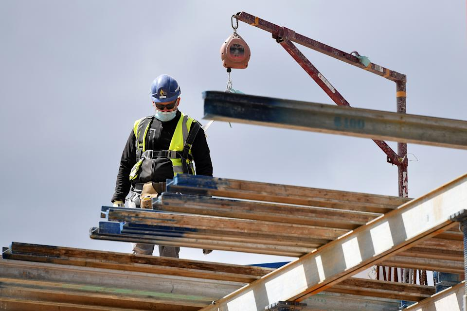 New purchasing managers' index (PMI) data shines a light on how UK construction firms are coping with COVID-19. Photo: Justin Tallis/AFP via Getty Images