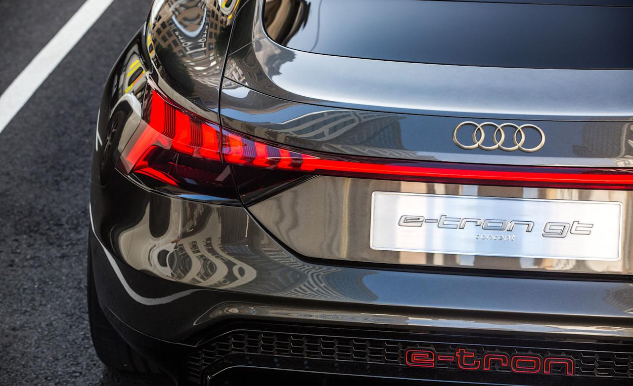 Every Photo From Our Drive Of The Audi E Tron Gt Concept