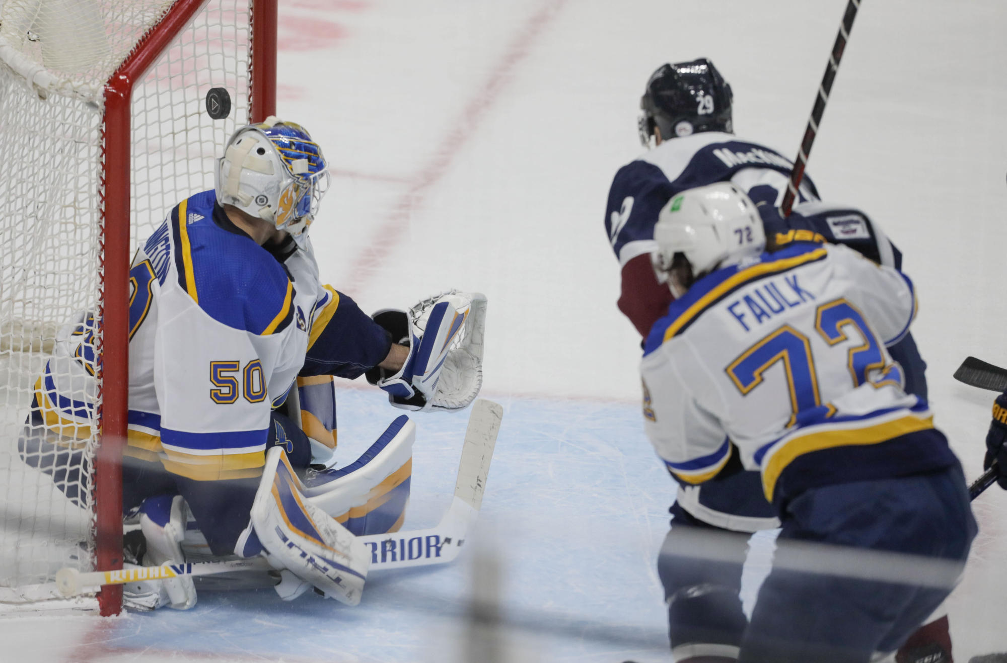 Avalanche continue to bury opponents