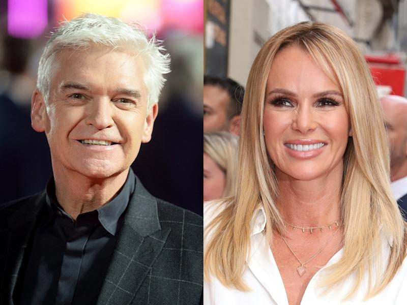 Phillip Schofield and Amanda Holden didn't turn up to the ITV summer party in Shoreditch on Wednesday 17 July (Dave J Hogan/Isabel Infantes/Getty)