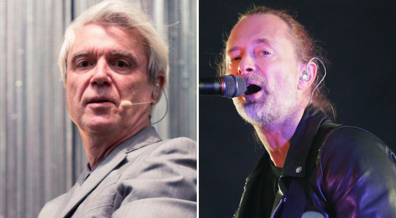 """In open letter, Thom Yorke, David Byrne respond to """"climate hypocrites"""" claim"""