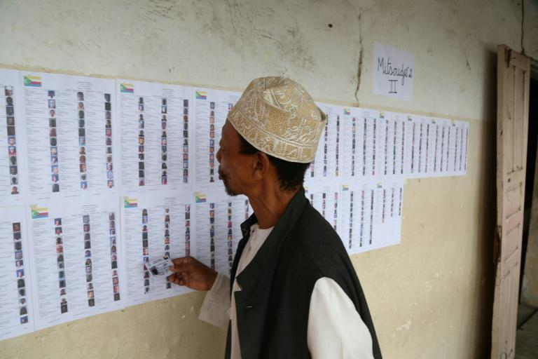 The Comoros president's CRC party won 17 out of 24 legislative seats after an opposition boycott