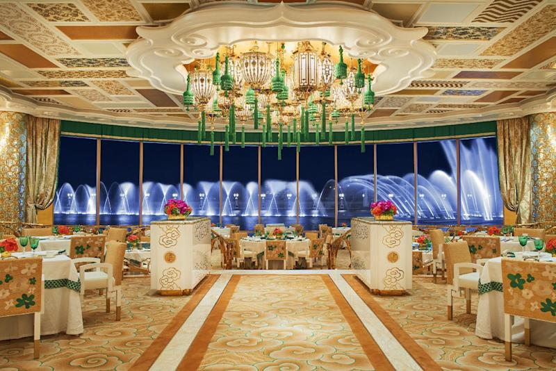 Lei Palace main dining room at Wynn Palace Macau
