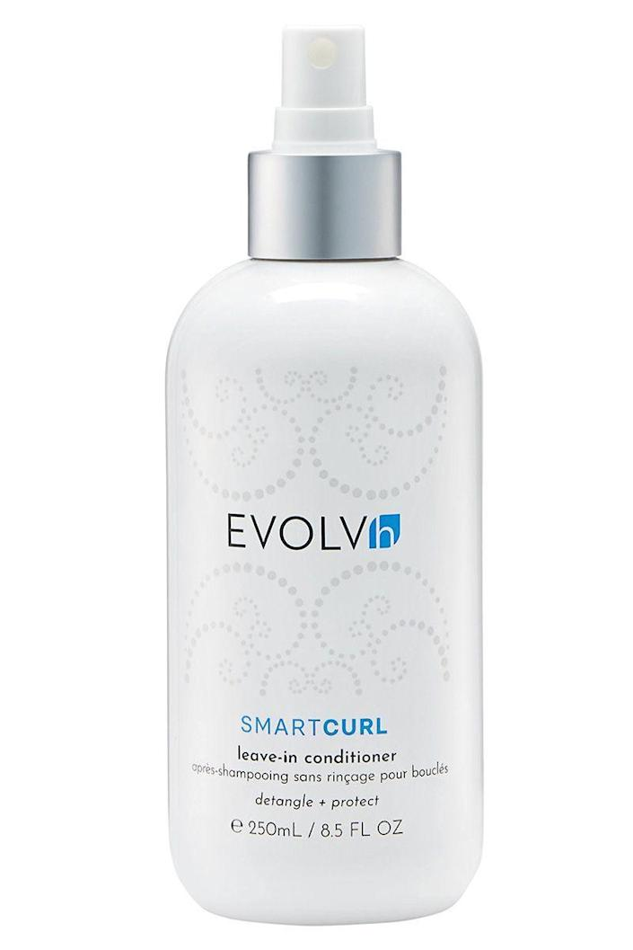 """<p><strong>EVOLVh</strong></p><p>credobeauty.com</p><p><strong>$29.00</strong></p><p><a href=""""https://go.redirectingat.com?id=74968X1596630&url=https%3A%2F%2Fcredobeauty.com%2Fproducts%2Fsmartcurl-leave-in-conditioner&sref=https%3A%2F%2Fwww.harpersbazaar.com%2Fbeauty%2Fhair%2Fg35565643%2Fbest-leave-in-conditioners-for-natural-hair%2F"""" rel=""""nofollow noopener"""" target=""""_blank"""" data-ylk=""""slk:Shop Now"""" class=""""link rapid-noclick-resp"""">Shop Now</a></p><p>Sometimes, you just don't want to get hands (or nails) covered in conditioner. This spray-on formula for curly hair types makes moisturizing all over easy and mess-free—while also detangling, heat-protecting, and upping glossiness. </p>"""