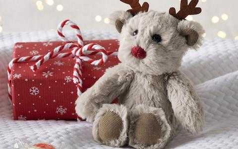 Jingles Reindeer Mini Toy - Credit: The White Company