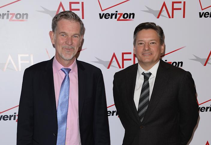 Netflix Chief Content Officer Ted Sarandos joins Reed Hastings as co-CEO