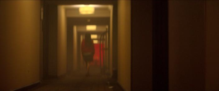 """A scene from the Netflix documentary series """"Crime Scene: The Vanishing at the Cecil Hotel,"""" which tells the story of the death of Canadian Elisa Lam at the Los Angeles Cecil Hotel in 2013. (Courtesy of Netflix)"""