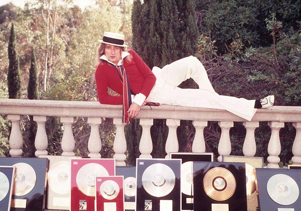 <p>Rod Stewart turned down the offer to play the Pinball Wizard in <em>The Who's Tommy</em> movie based on advice from Elton John who ended up taking the role himself.</p>