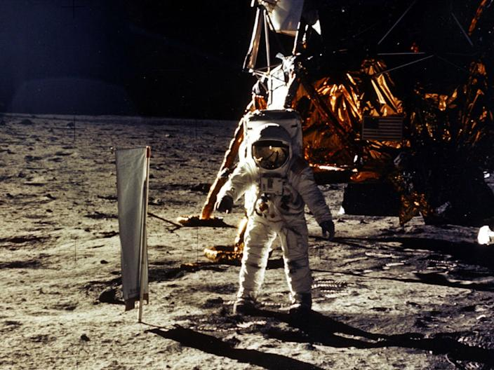 """This weekend marks 50 years since astronaut Neil Armstrong became the first person to walk on the lunar surface.The landing craft carrying the Apollo 11 Commander and fellow astronaut Buzz Aldrin touched down on the moon on July 20 1969, before Armstrong stepped out and onto the surface, declaring: """"That's one small step for a man, one giant leap for mankind.""""Armstrong made history as he placed his left foot on the moon at 3.56am UK time on July 21, making him the first human to ever step on anything that has not existed on or originated from the Earth.Aldrin followed a few moments later, as their colleague Michael Collins waited in the command module in orbit around the moon.As the world marvelled 50 years ago, interest in the moon remains high today with ambitions to return after the last Apollo mission in 1972.US vice president Mike Pence has told Nasa that president Donald Trump wants astronauts back on the moon within five years, while multinational plans are in the works for a new space station around it.The UK Space Agency is bidding to play a part in the communication and refuelling elements of the proposed Lunar Orbital Platform - Gateway, a future outpost intended to serve as a laboratory and short-term accommodation post for astronauts exploring the moon.Collins, who attended a celebration at Kennedy Space Centre's Launch Complex 39A in Florida on Tuesday, described it as a """"wonderful feeling"""" to be back at the spot where the Saturn V rocket blasted the trio off into space.""""Apollo 11 ... was serious business,"""" he said.""""We, crew, felt the weight of the world on our shoulders. We knew that everyone would be looking at us, friend or foe, and we wanted to do the best we possibly could.""""For much of the week, people from all walks of life have been sharing their own memories of Apollo 11, but interest has not stopped at those able to witness the historic feat, with events carried out across the globe.According to a survey by Lego of 1,000 children aged between """