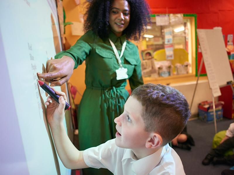 There is evidence of an 'invisible glass ceiling' for black and ethnic minority teachers: Getty