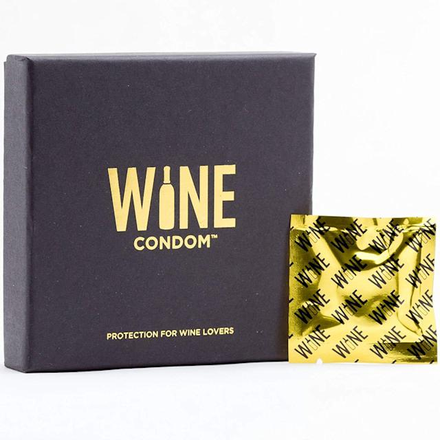 Wine Condoms. (Photo: Amazon)