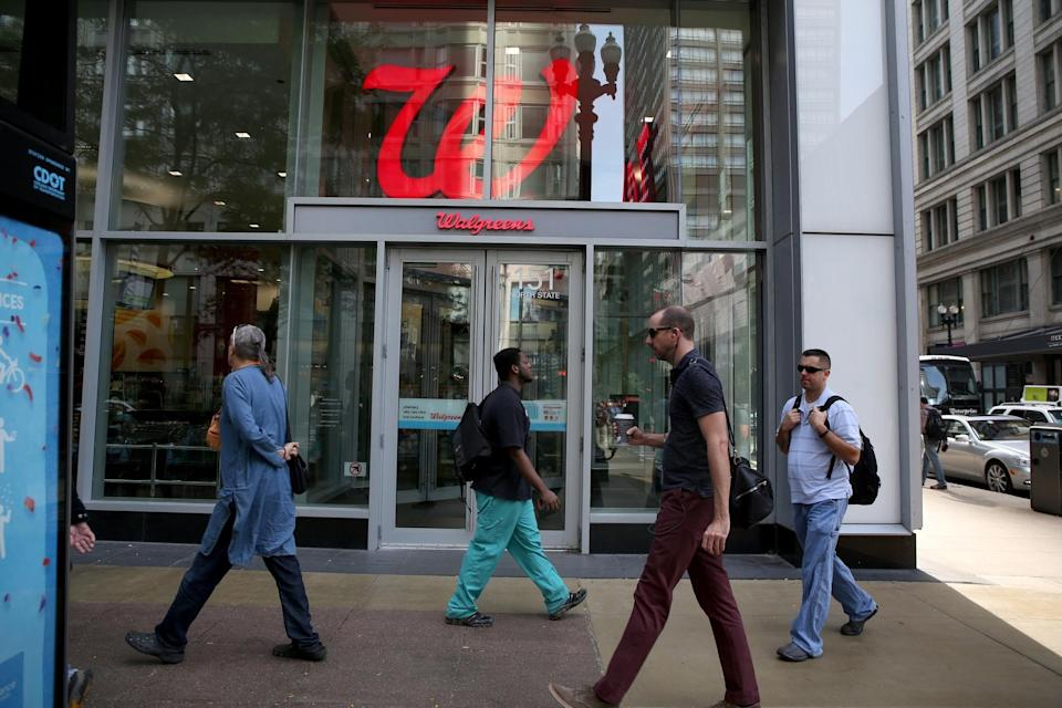 The Walgreens store at State and Randolph Streets in Chicago. (Nancy Stone/Chicago Tribune/Tribune News Service via Getty Images