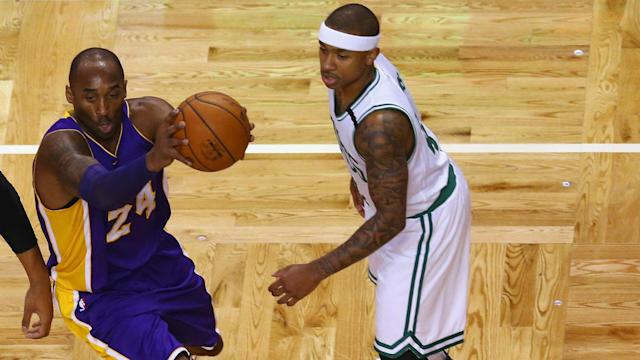 Kobe Bryant is helping Isaiah Thomas in the NBA playoffs, as the Boston Celtics guard continues to star.