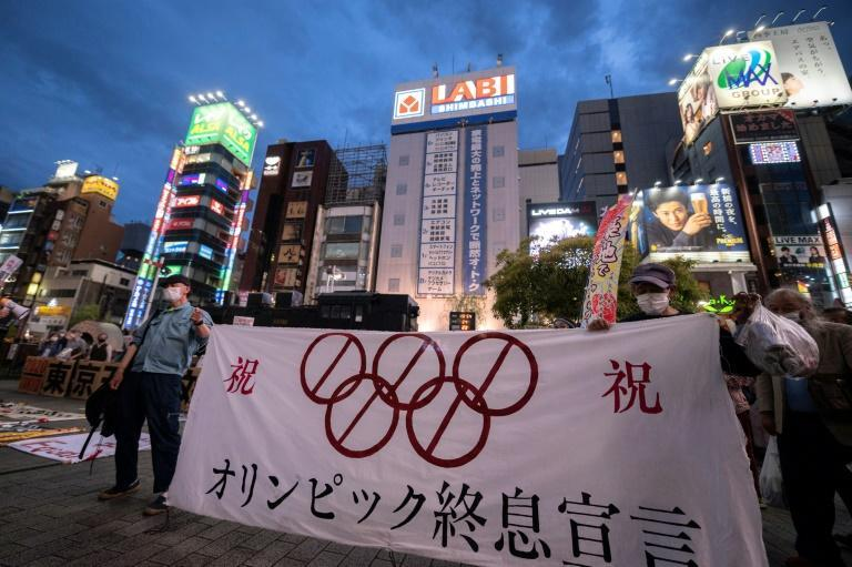 More than 80 percent of people in Japan say they want the Tokyo Games to be cancelled or postponed again
