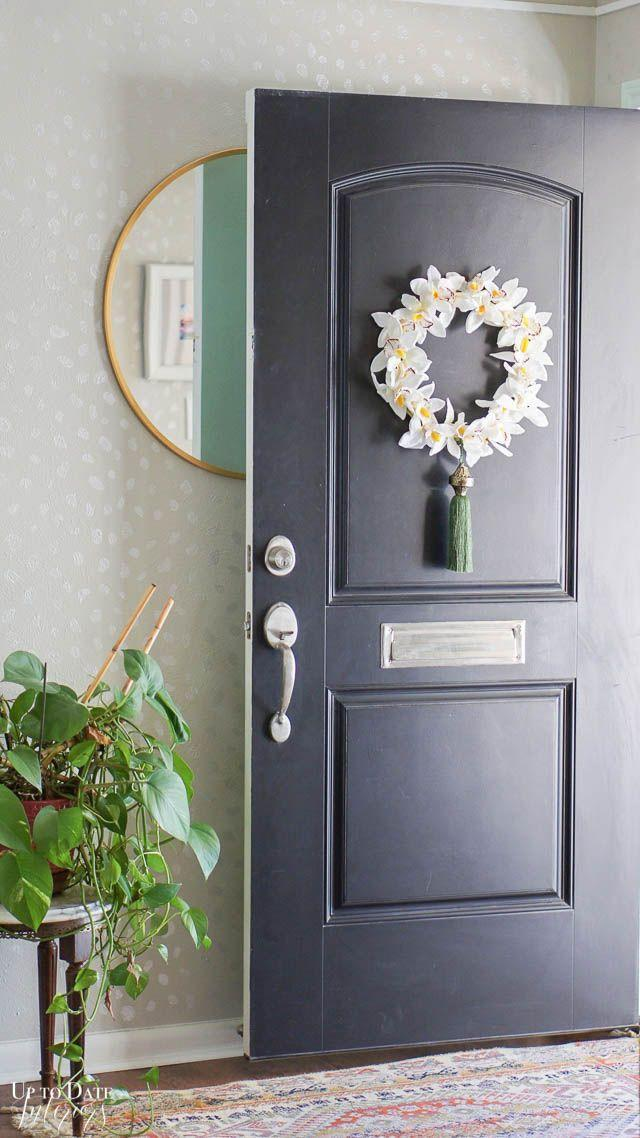 """<p>Mark the return of flowers in your backyard with a wreath that features faux orchids and a tassel. </p><p><strong>Get the tutorial at <a href=""""https://uptodateinteriors.com/embroidery-hoop-wreath/"""" rel=""""nofollow noopener"""" target=""""_blank"""" data-ylk=""""slk:Up to Date Interiors"""" class=""""link rapid-noclick-resp"""">Up to Date Interiors</a>.</strong></p><p><a class=""""link rapid-noclick-resp"""" href=""""https://go.redirectingat.com?id=74968X1596630&url=https%3A%2F%2Fwww.walmart.com%2Fsearch%2F%3Fquery%3Dembroidery%2Bhoop&sref=https%3A%2F%2Fwww.thepioneerwoman.com%2Fhome-lifestyle%2Fcrafts-diy%2Fg35698457%2Fdiy-easter-wreath-ideas%2F"""" rel=""""nofollow noopener"""" target=""""_blank"""" data-ylk=""""slk:SHOP EMBROIDERY HOOPS"""">SHOP EMBROIDERY HOOPS</a></p>"""