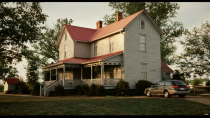 <p>One glance at this stunning property and it's easy to see why it was chosen as the home of Jennifer Garner's fictional family in the Disney film <em>The Odd Life of Timothy Green</em>. At the time of filming, it was a bed and breakfast. Even from the outside, you can see its southern charm. </p><p> 155 Greenville St, Newnan, GA 30263</p>