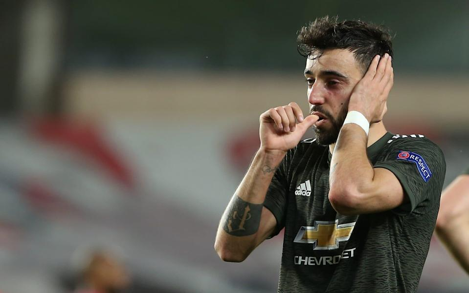 Manchester United take step towards Europa League semi-final with patient win over tricky Granada - GETTY IMAGES