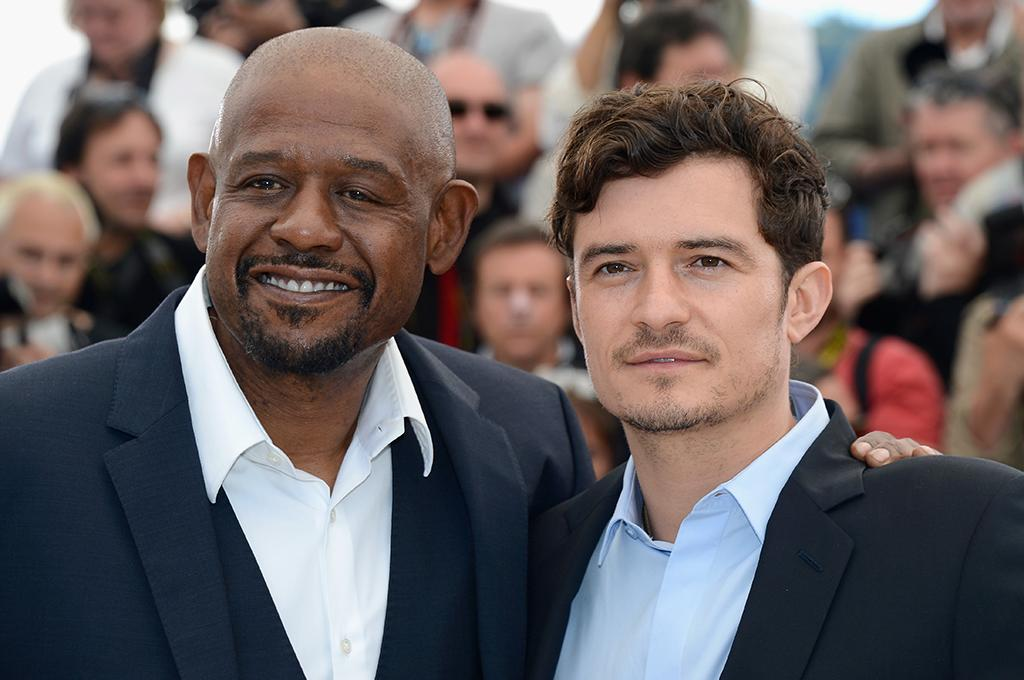 CANNES, FRANCE - MAY 26:  Actors Forest Whitaker and Orlando Bloom attend the 'Zulu' Photocall during the 66th Annual Cannes Film Festival at the Palais des Festivals on May 26, 2013 in Cannes, France.  (Photo by Pascal Le Segretain/Getty Images)