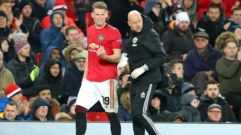 Solskjaer concerned over McTominay injury, unworried about Maguire