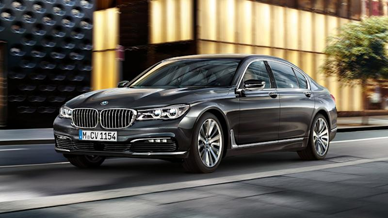 21 per cent of BMW 7 series drivers have picked up a motoring conviction in the last five years (BMW)