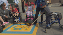 'A forward moving perspective': Why one group is trying to update accessibility signs