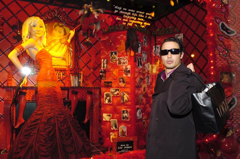 Zac Posen during Barneys New York Holiday Windows 2003 Fairytales and the City at Barneys New York in New York City, New York, United States. (Photo by Dimitrios Kambouris/WireImage)