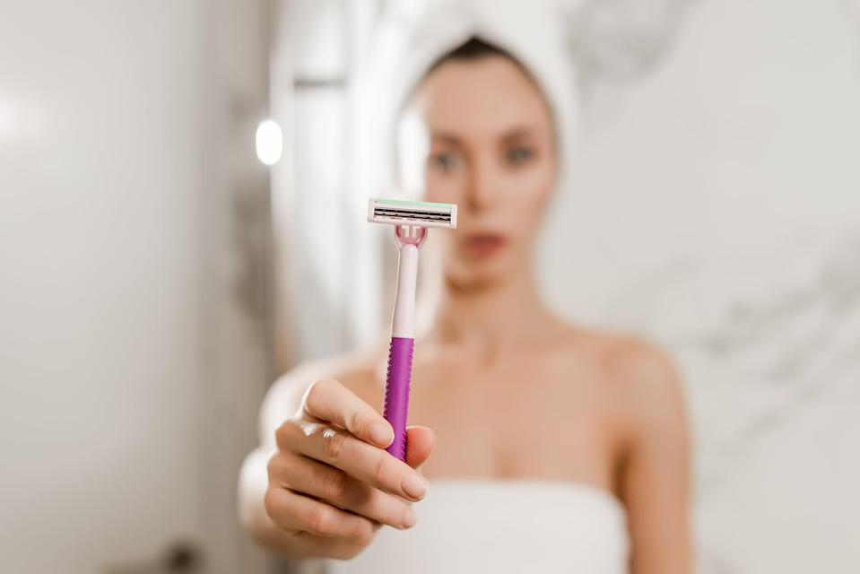 """<p>The process for shaving your armpits isn't complicated, but there are still a couple of common mistakes you should be mindful of. First: don't shave right when you get in the shower. """"It's always best to shave at the end of the shower when your skin and hair will be hydrated and soft, ensuring a comfortable shave,"""" said Sofronas. Second: remember to change your razor or the blade. """"Think back to when you last changed your blade. If it has been a while, change it. You always want sharp blades because a sharp blade will offer the cleanest cut while a dull blade can tug and irritate."""" </p> <p>If you're in the market for a new razor, we recommend the <span>Vera Bradley + Venus ComfortGlide Sugarberry Women's Razor + 2 Razor Blade Refills</span> ($13) or <span>Billie Razor Starter Kit</span> ($9). </p>"""