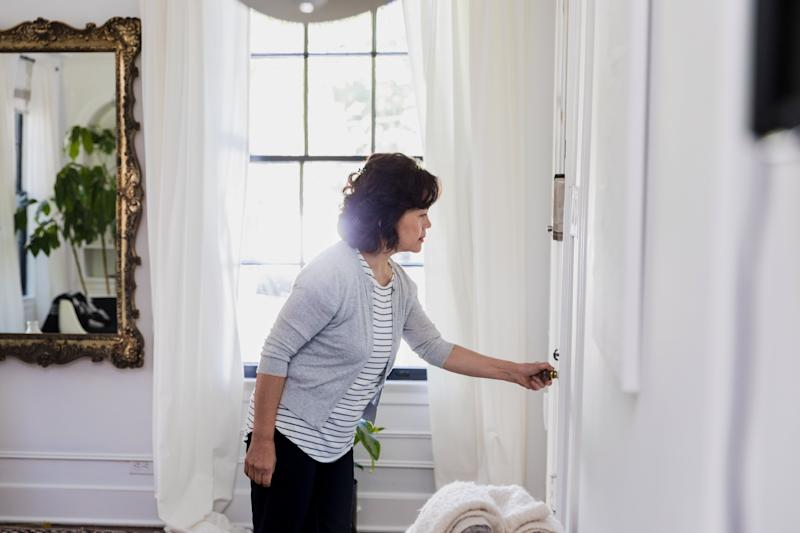 Closing the doors to unused rooms will keep any cold air generated by your fan in one place.