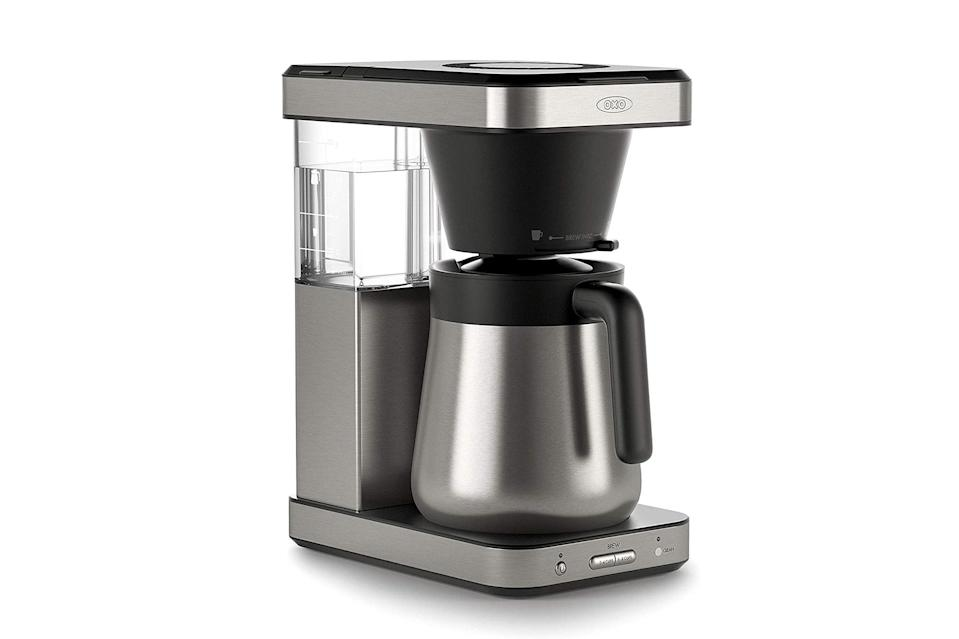 "$170, Amazon. <a href=""https://www.amazon.com/OXO-Cup-Coffee-Maker-8718800/dp/B07H9G93WK"" rel=""nofollow noopener"" target=""_blank"" data-ylk=""slk:Get it now!"" class=""link rapid-noclick-resp"">Get it now!</a>"