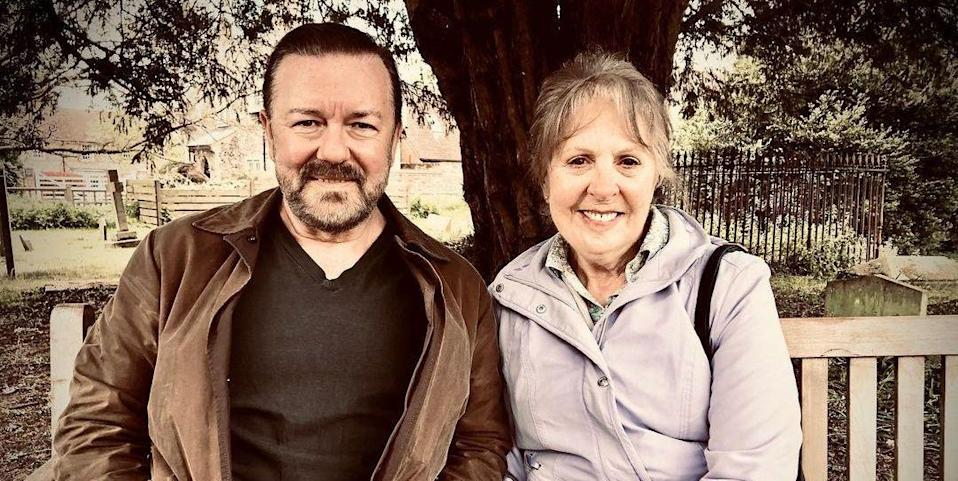 Photo credit: Ricky Gervais - Instagram