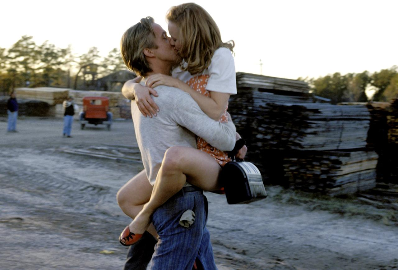"""<p>Though we're sure you're familiar with this adaptation of the 1996 Nicholas Sparks novel, watching <a class=""""sugar-inline-link ga-track"""" title=""""Latest photos and news for Ryan Gosling"""" href=""""https://www.popsugar.com/Ryan-Gosling"""" target=""""_blank"""" data-ga-category=""""Related"""" data-ga-label=""""https://www.popsugar.com/Ryan-Gosling"""" data-ga-action=""""&lt;-related-&gt; Links"""">Ryan Gosling</a> and <a class=""""sugar-inline-link ga-track"""" title=""""Latest photos and news for Rachel McAdams"""" href=""""https://www.popsugar.com/Rachel-McAdams"""" target=""""_blank"""" data-ga-category=""""Related"""" data-ga-label=""""https://www.popsugar.com/Rachel-McAdams"""" data-ga-action=""""&lt;-related-&gt; Links"""">Rachel McAdams</a>'s turbulent and insanely magnetic multiyear love story never gets old (or any less hot).</p> <p><strong>When it's available: </strong><a href=""""http://www.netflix.com/title/60036227"""" target=""""_blank"""" class=""""ga-track"""" data-ga-category=""""Related"""" data-ga-label=""""http://www.netflix.com/title/60036227"""" data-ga-action=""""In-Line Links"""">Feb. 1</a></p>"""
