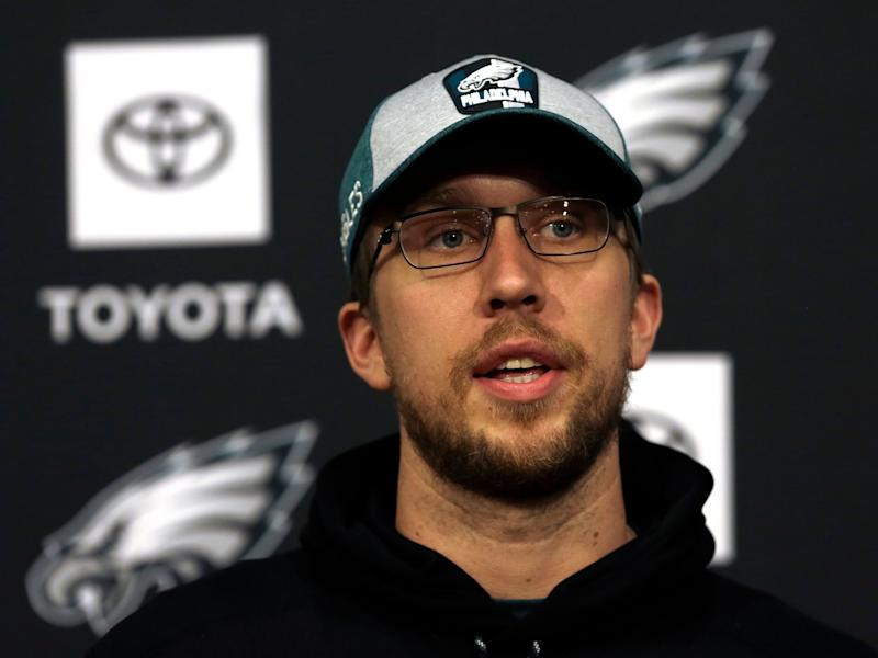 Nick Foles is signing with Jaguars