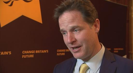 Nick Clegg: PM treating EU leaders like subordinates