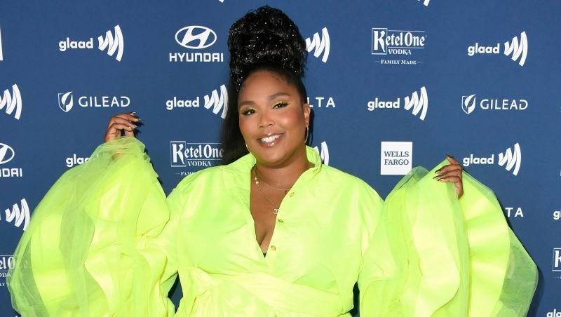 Lizzo attends the 30th Annual GLAAD Media Awards at The Beverly Hilton Hotel on March 28, 2019 in Beverly Hills, California.