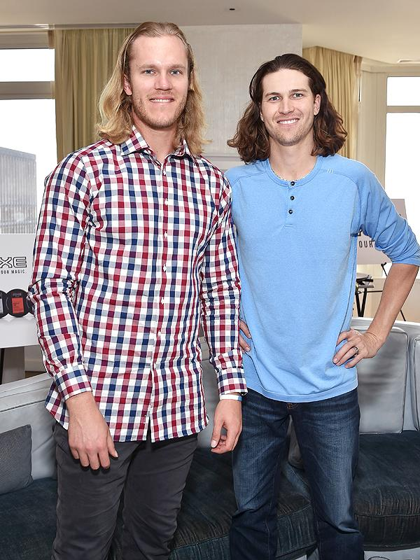 d1fa809af69e0 New York Mets Pitchers Noah Syndergaard and Jacob deGrom on ...
