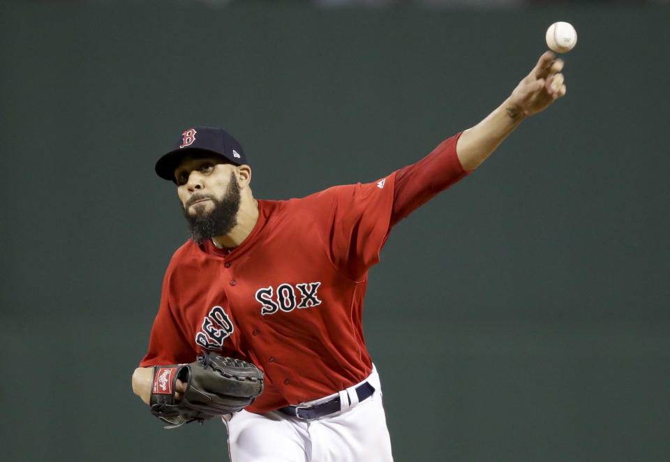 David Price will start Game 2 of the ALCS for the Red Sox. (AP Photo)