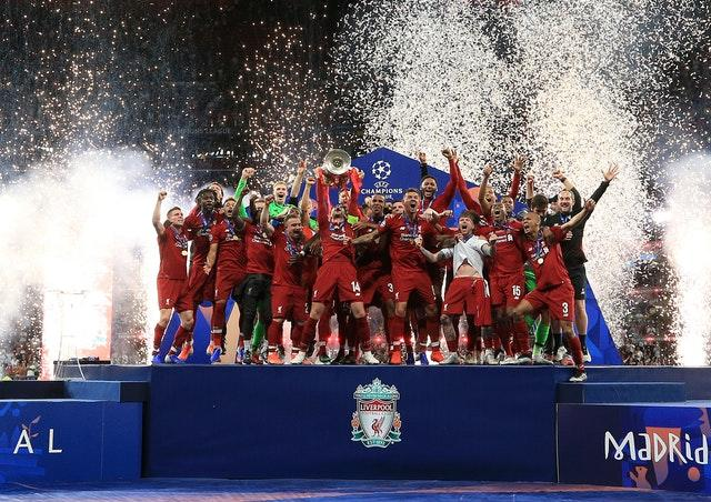 Liverpool came out on top against Tottenham in the Champions League final (Peter Byrne/PA)
