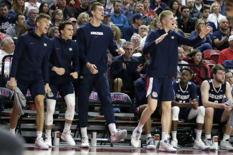 Baylor jumps to No. 2 in AP Top 25; Gonzaga stays No. 1
