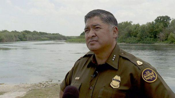 PHOTO: In this screen grab taken from a video, Raul Ortiz, the next chief of the U.S. Border Patrol, speaks with ABC News long the Rio Grande in Del Rio, Texas, June 24, 2021. (ABC News)