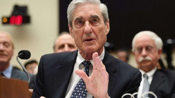 PHOTO: Former Special Prosecutor Robert Mueller testifies before Congress, July 24, 2019, in Washington, D.C., about his report on Russia election interference. (Saul Loeb/AFP/Getty Images)