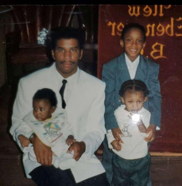 PHOTO: Samuel Fields is pictured with three of his children in this undated family photo. (Fields family)