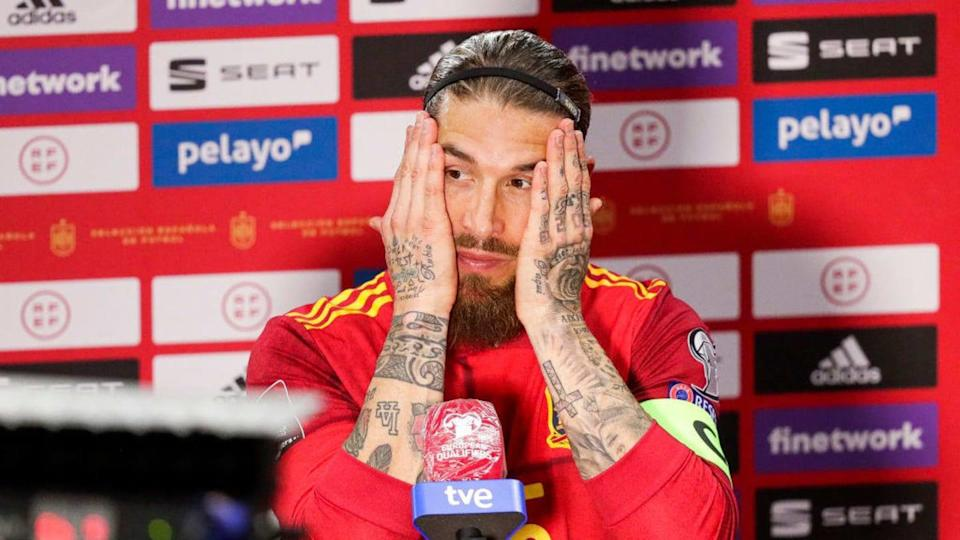 Spain v Kosovo -World Cup Qualifier - Ramos, preocupado. | Soccrates Images/Getty Images