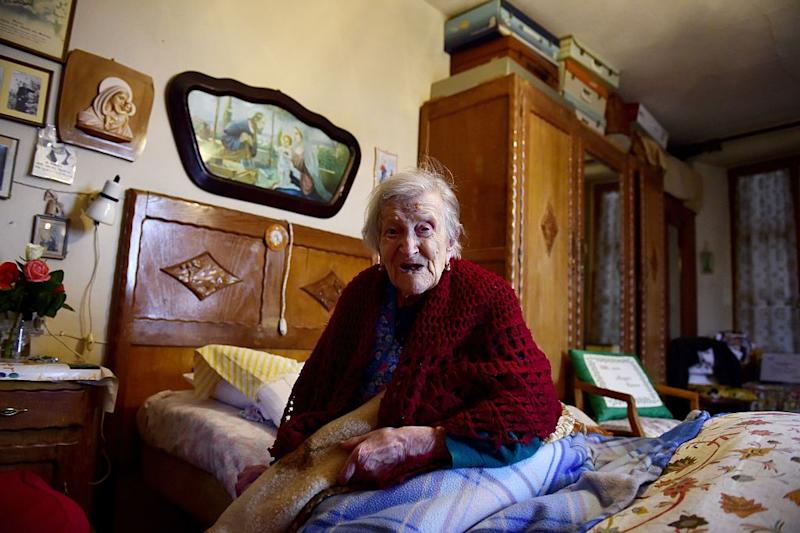 ITALY-OLDEST-PERSON-MORANO
