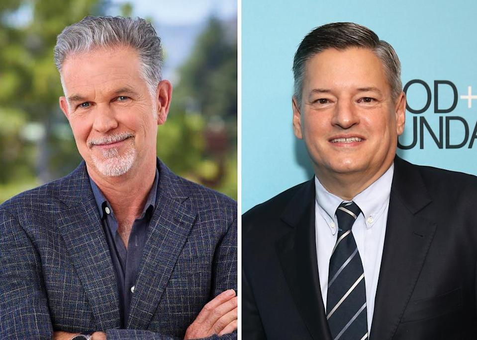 Reed Hastings and Ted Sorandos