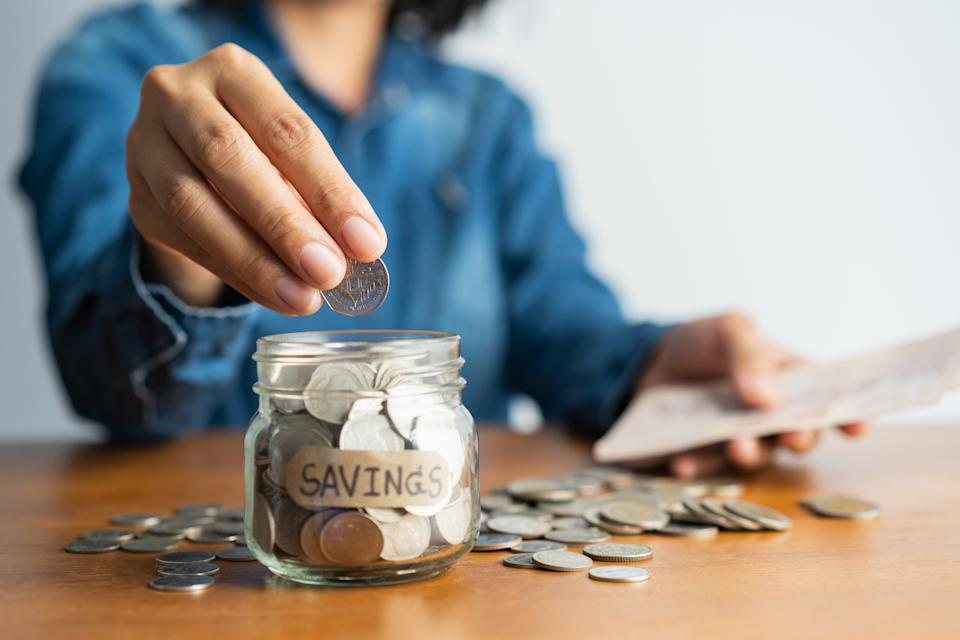 Single-person households spend an average of 92% of their disposable income every month. Photo: Getty Images