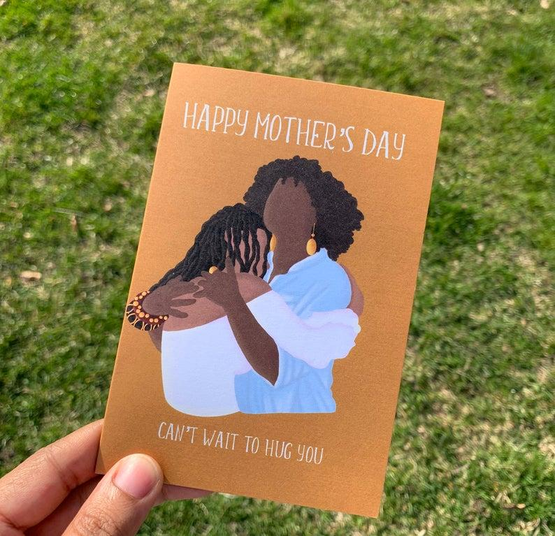 Mother's Day Greeting Card. Image via Etsy.