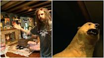 <p>Welp, Rob Zombie's house is just about as terrifying as you'd expect.</p>